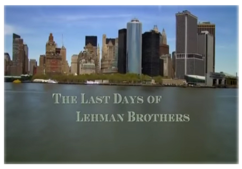 Best Finance Documentaries - The Last Days of Lehman Brothers BBC