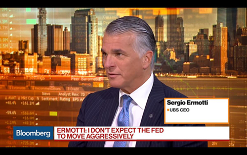 Big Banks investing in bitcoin - UBS CEO Ermotti